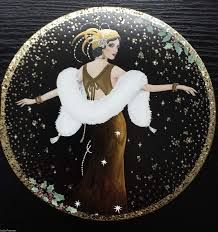 Image result for clinton cards art deco
