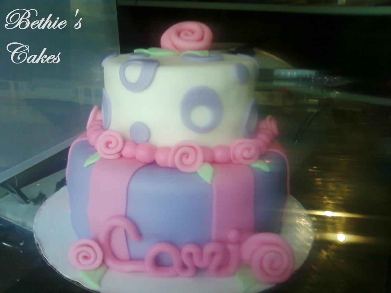 My Friend Amanda's lil girls bday cake. (6th cake) This one is my favorite so far :)