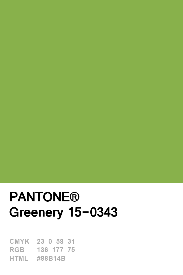 pantone colour of the year 2017 greenery psychologyvideoswallpapers in 2020 palette palettes color 397 c 7537