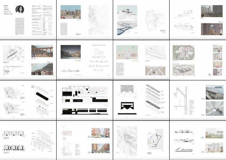 Pin Auf Architektur Portfolio Layout