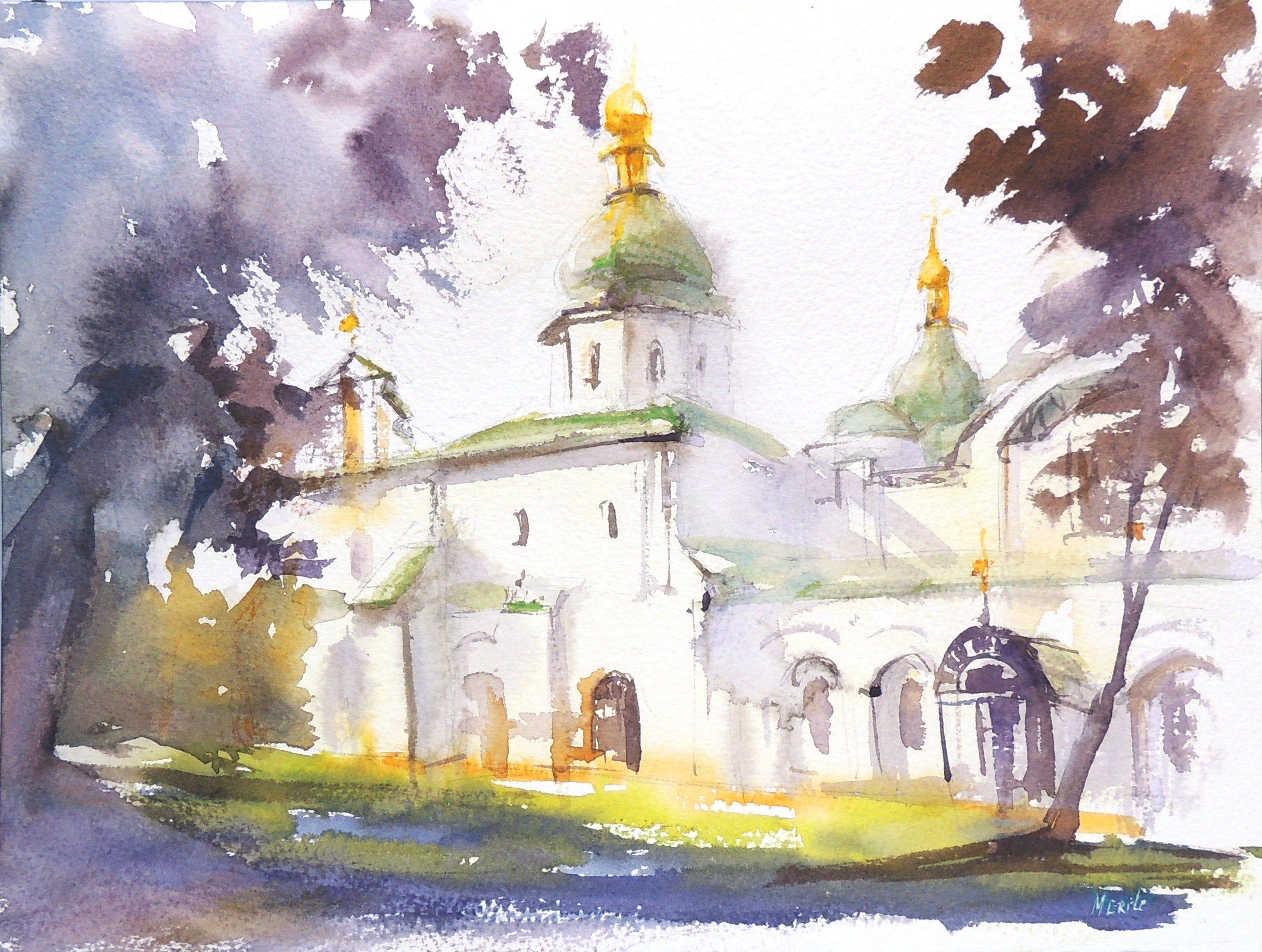 Pin On Ukrainian Watercolour Artists