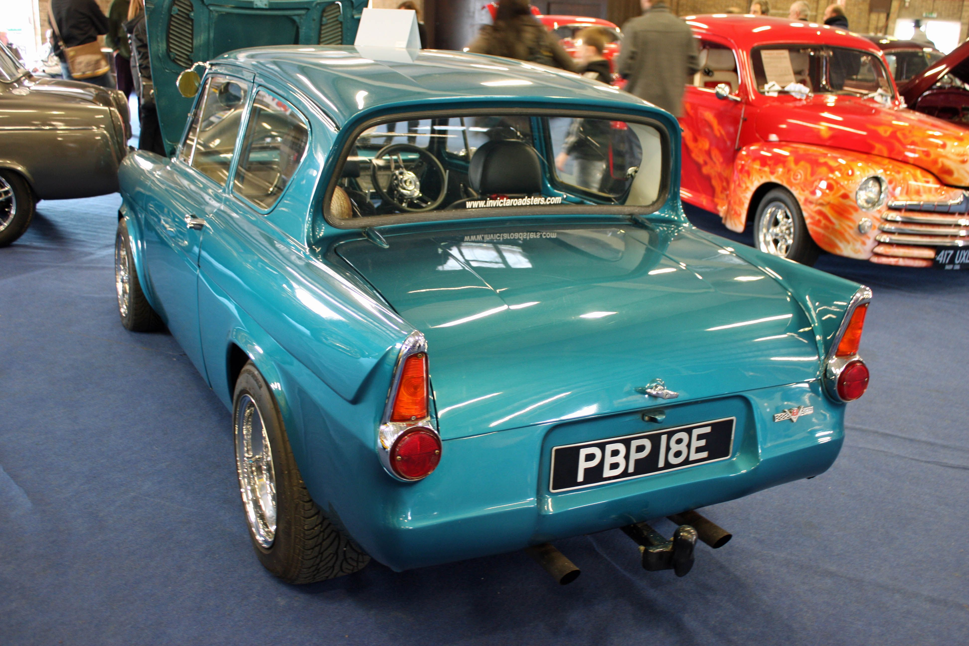 Ford Anglia Rear At The Kit Car Show Kent Uk Ford Anglia Ford
