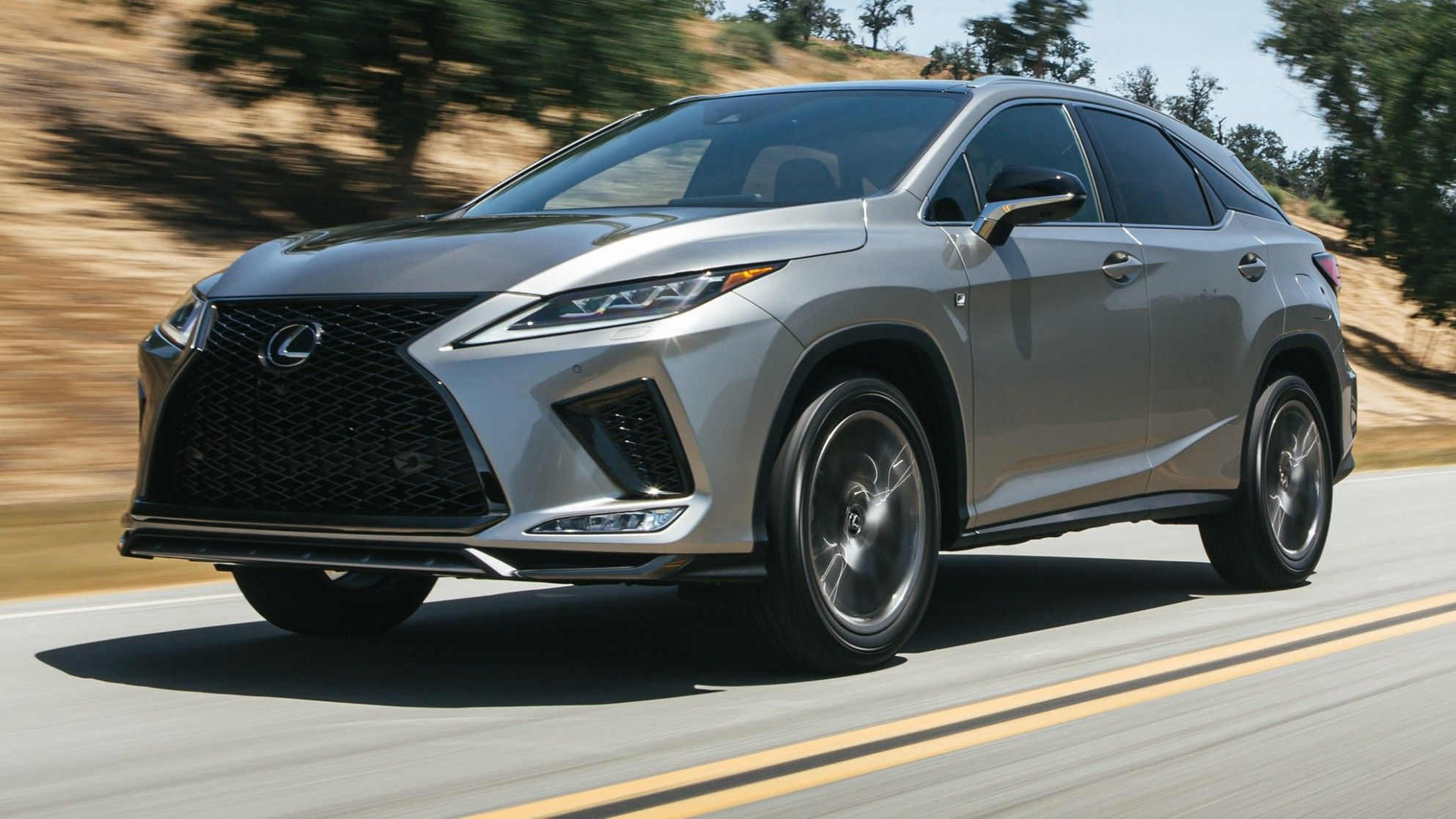 2021 Lexus Rx 350 F Sport Suv Design Is So Famous But Why