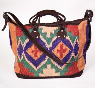 Handwoven baggage for weekend trips:)
