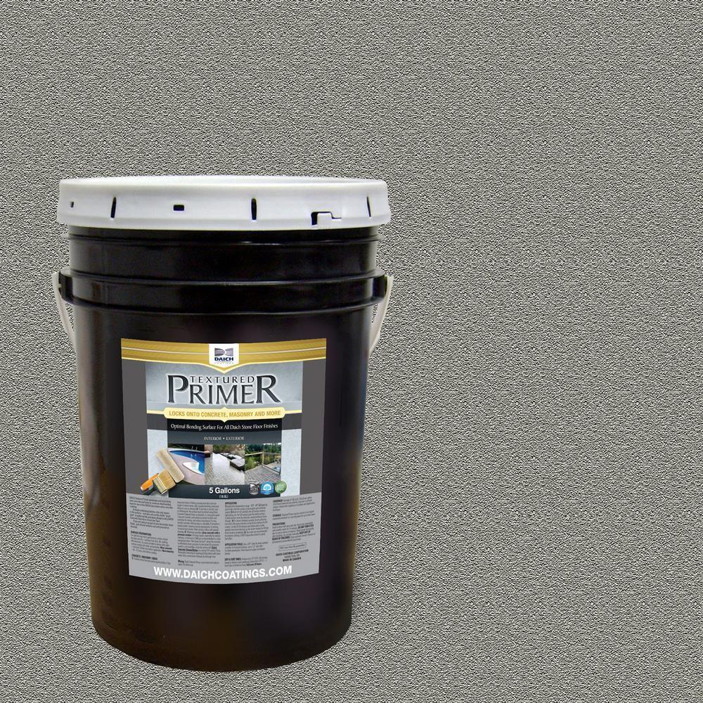 Daich Textured 5 Gal Raw Gray Interior Exterior Bonding Primer