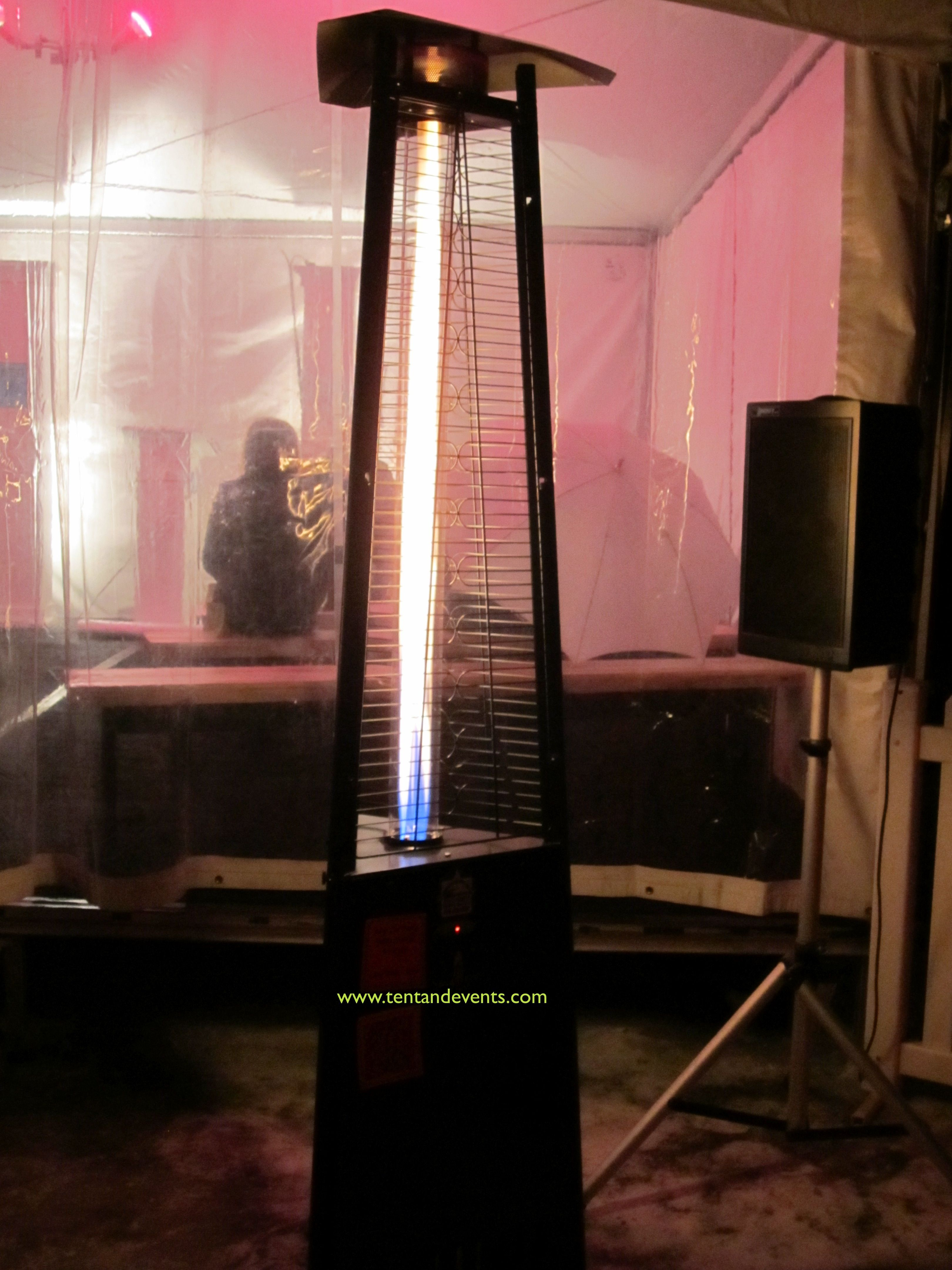 Lava Lamp Patio Heater