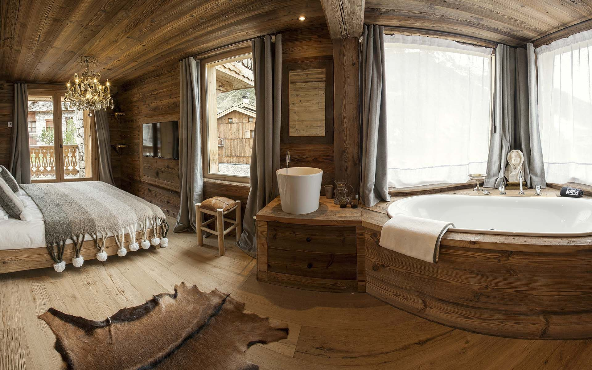 Chalet Seven Crans Montana Switzerland is a luxury ski chalet with