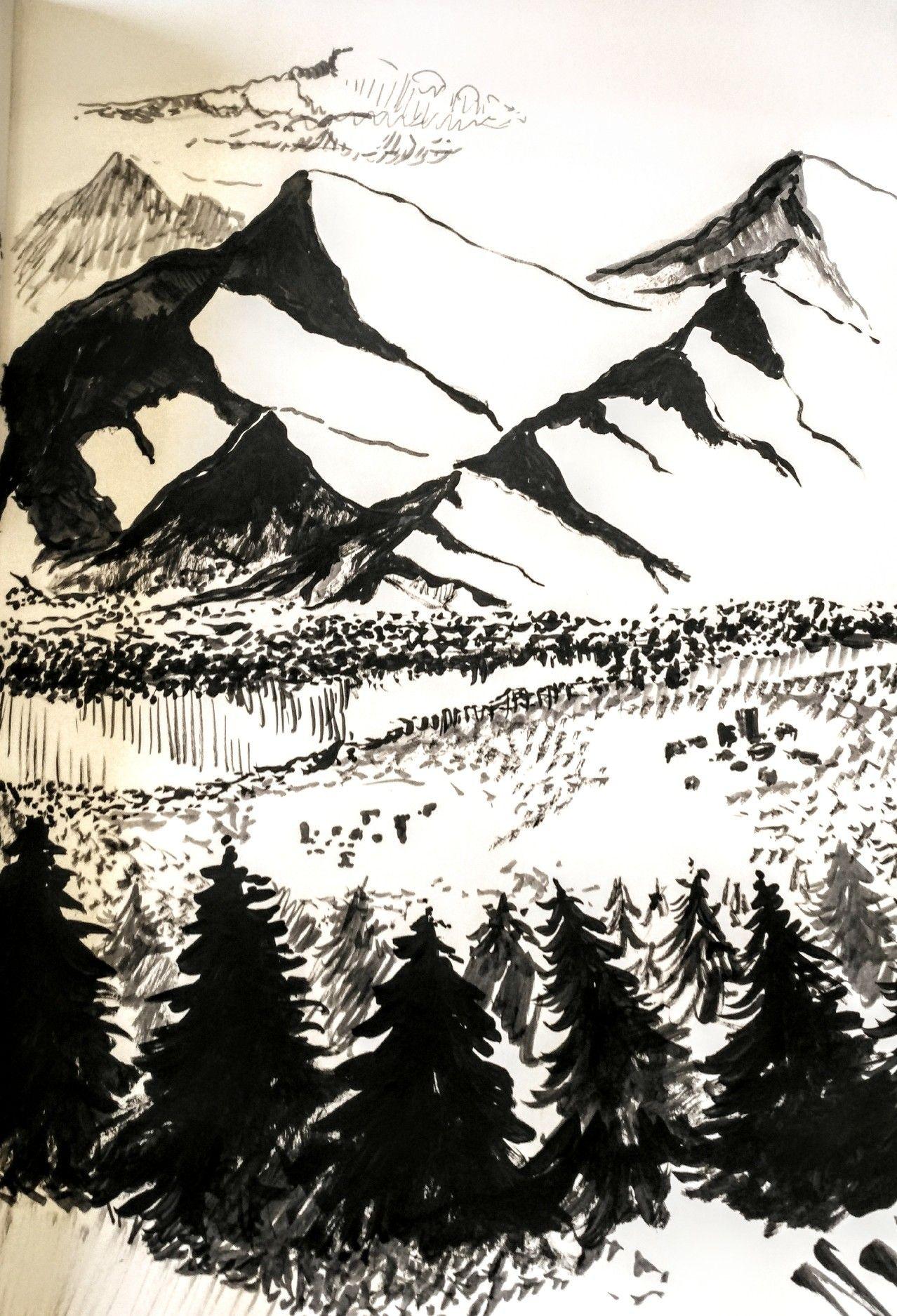 Landscape Mountain Realistic
