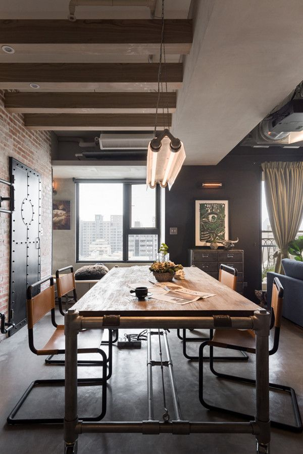 A Loft Designed for a Couple and Their 3 Cats Interiors Lofts and