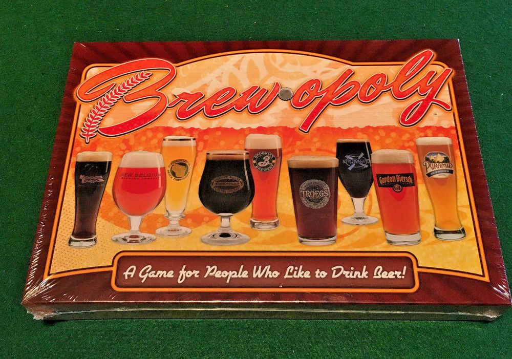 Brewopoly Board Game For People Who Like To Drink Beer Brew Opoly