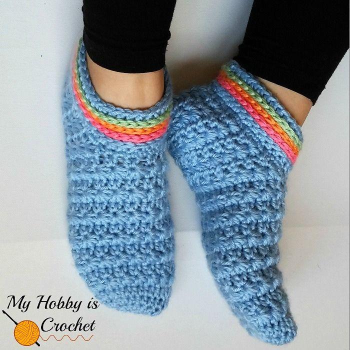 Starlight Women Slippers By Kinga Erdem - Free Crochet Pattern ...