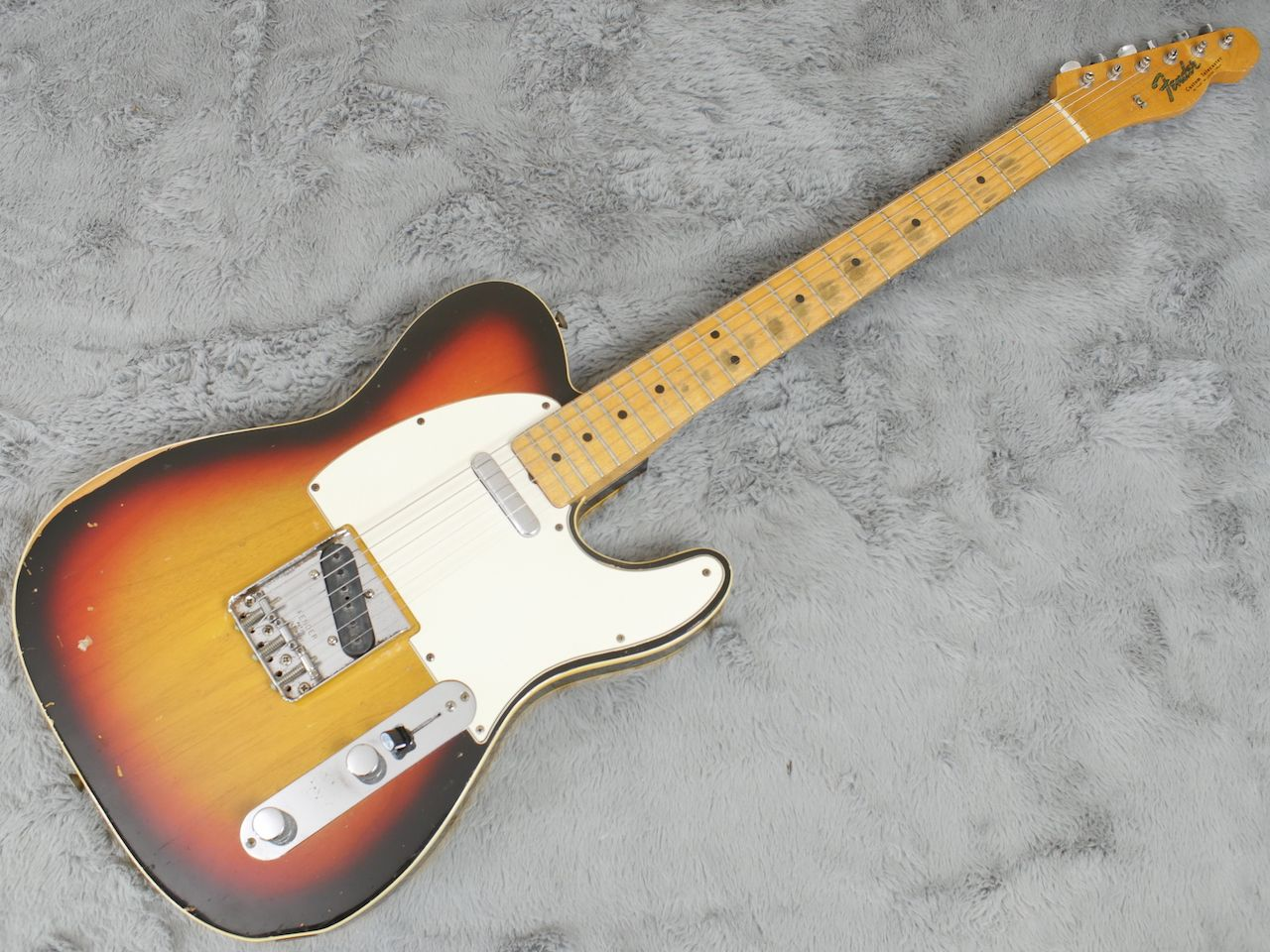 fender-Telecaster Custom-1967-Sunburst