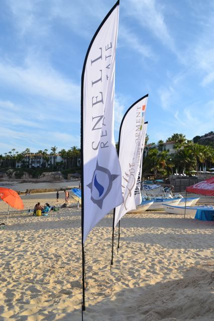 Hennessey's World Stand Up Paddle Championship with raffles, races, DJ, and fun for everyone in Palmilla Beach.