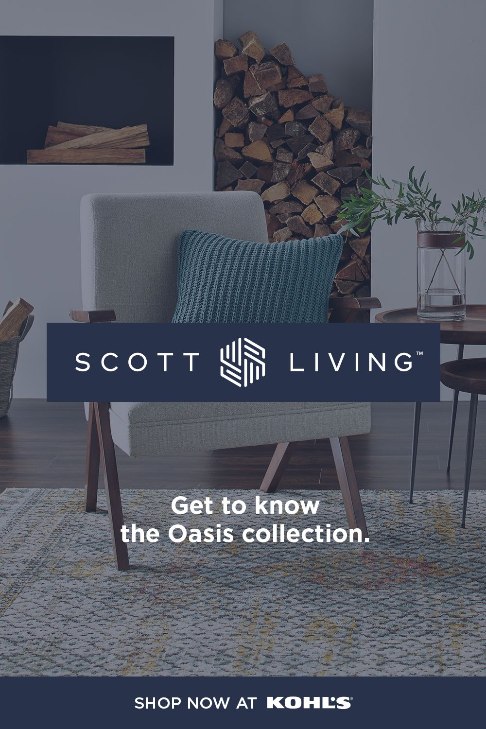 Find Scott Living At Kohl S Turn Your Living Room Into A Personal