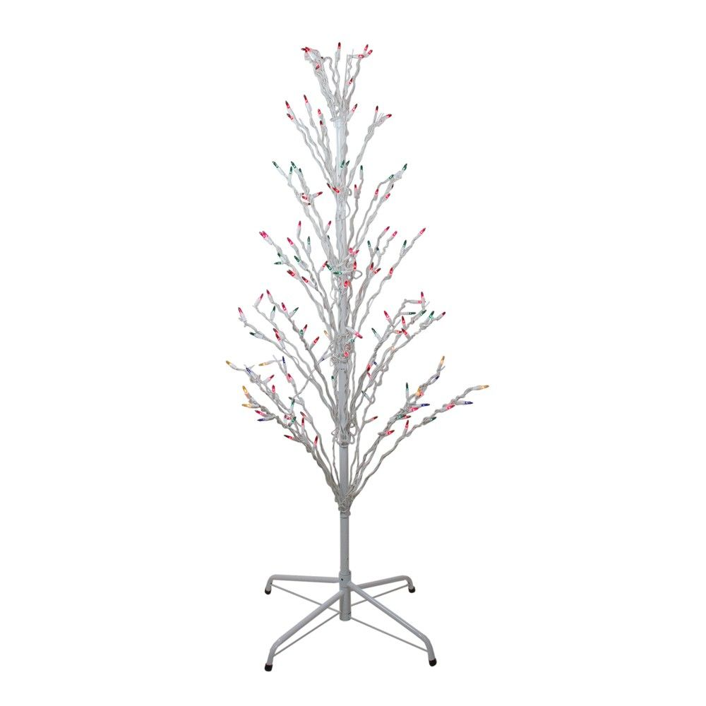 Northlight 4' Prelit Artificial Christmas Tree White