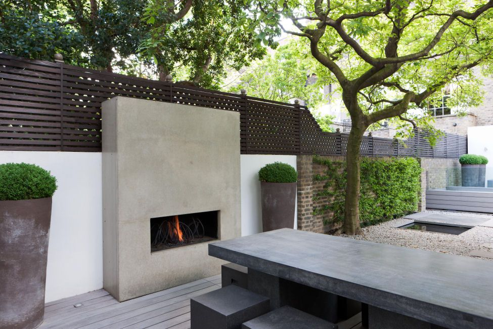 Luciano Giubilei Fireplace Modern Outdoor Fireplace Exterior Fireplace Contemporary Outdoor Fireplaces