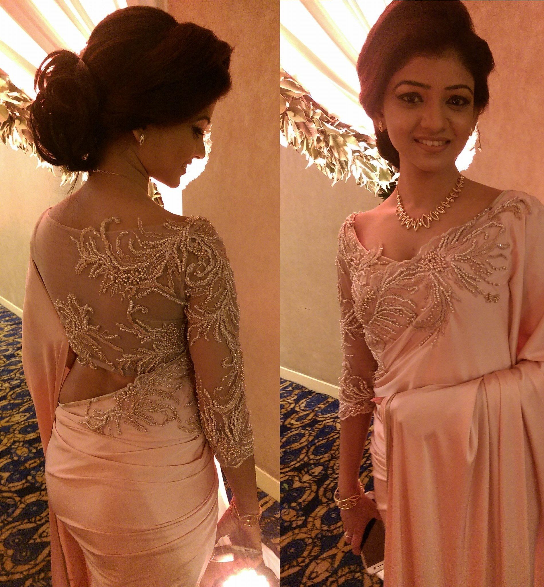 Wedding Hairstyle In Sri Lanka: Sri Lankan Fashion Maya And Anuththara Superfit # 19