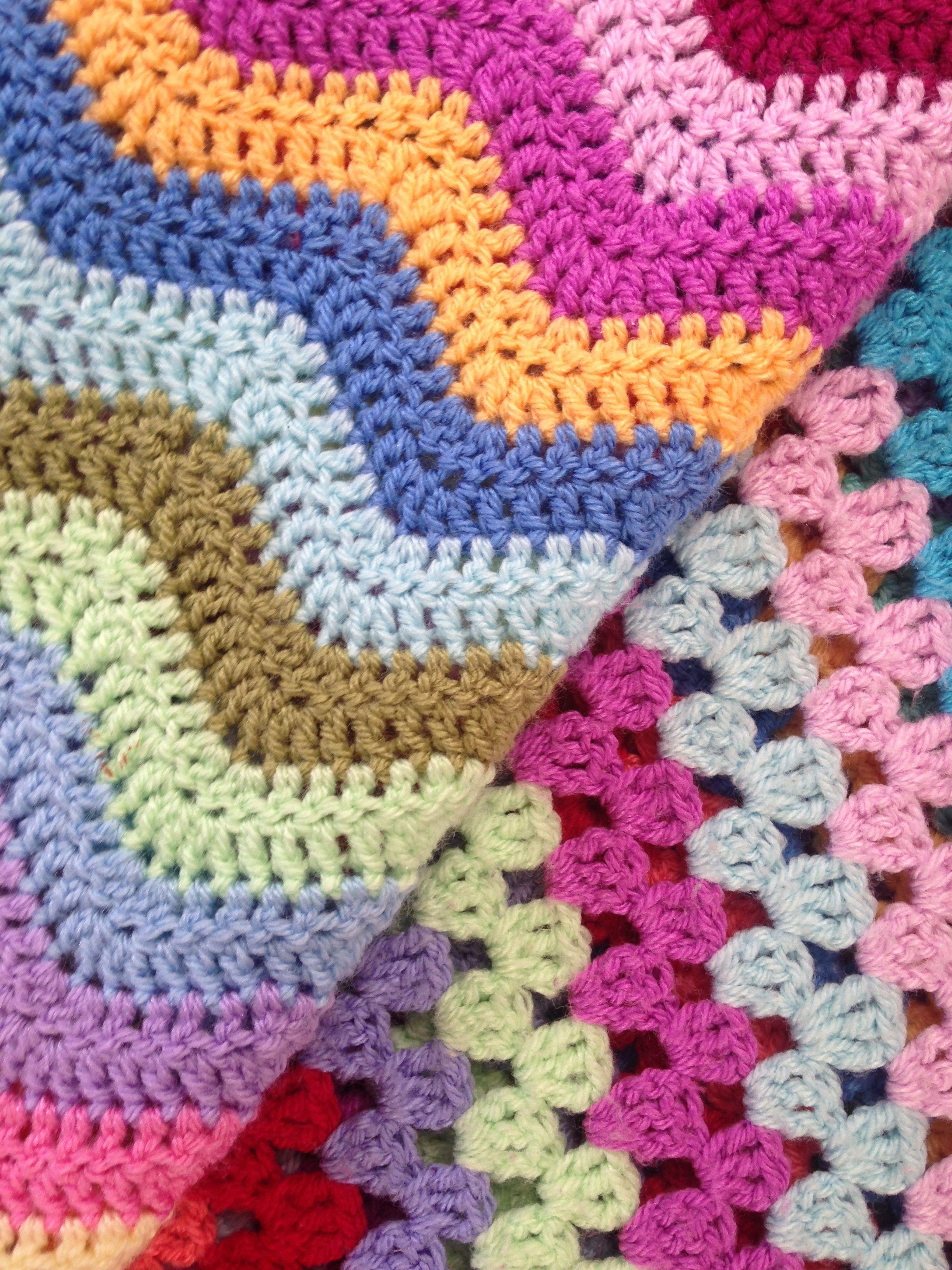 The Making Of My Attic 24 Ripple Blanket Blanket Granny Stripe Blanket Crochet Blanket