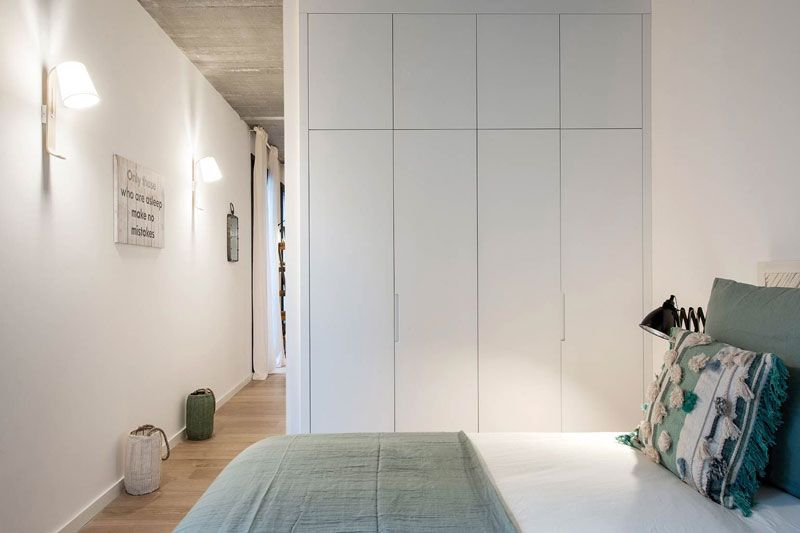 Ikea Armadi A Muro Su Misura.Un Appartamento Di 50 Mq Con Tante Idee Da Copiare Per La Casa Al