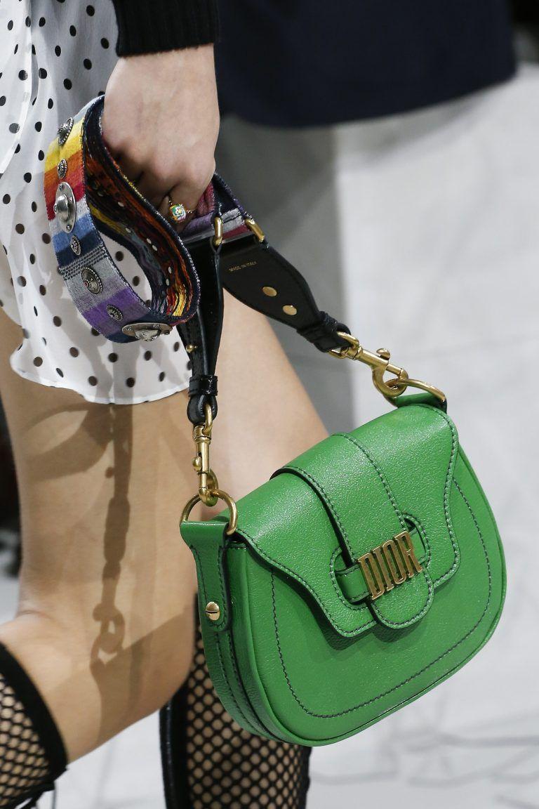 8479eb07a091 Dior Green D-Fence Saddle Bag - Spring 2018