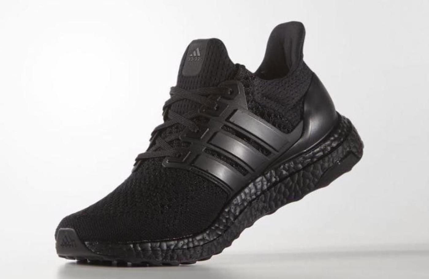 An Official Look At The Adidas Ultra Boost Triple Black Adidas Ultra Boost Ultra Boost Triple Black All Black Adidas