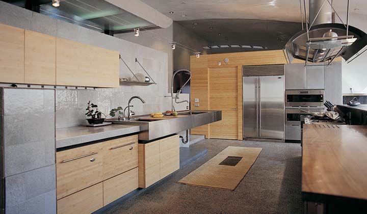 Natoma Custom Maple Cabinetry And Refrigerator Door Panels Fog