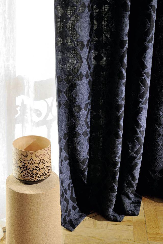 "Colección "" Essaouira"" - Tela bordada #hechoamano que evoca sabores picantes y coloridos de Élitis ref: LI 415 46"