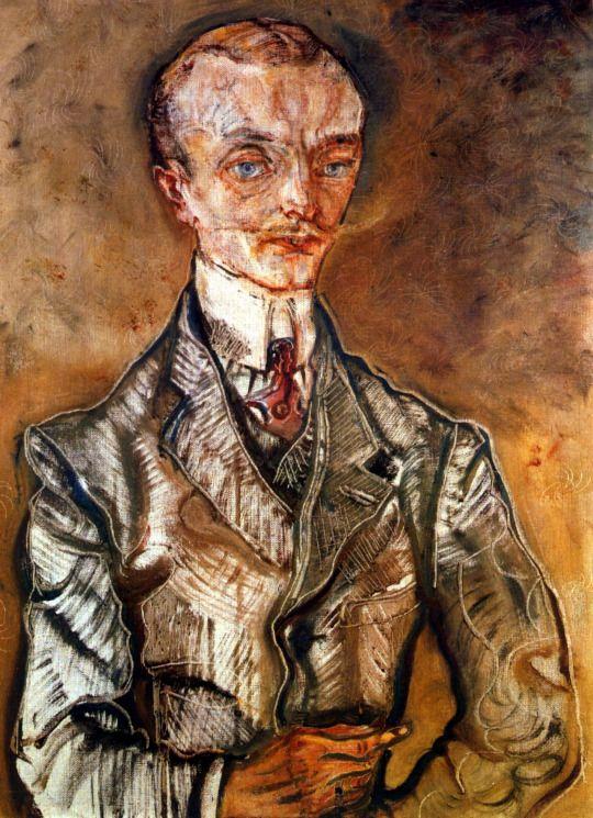 Le Comte de Montesquiou-Fezensac   -  Oskar  Kokoschka  1910   Austrian  1886-1980