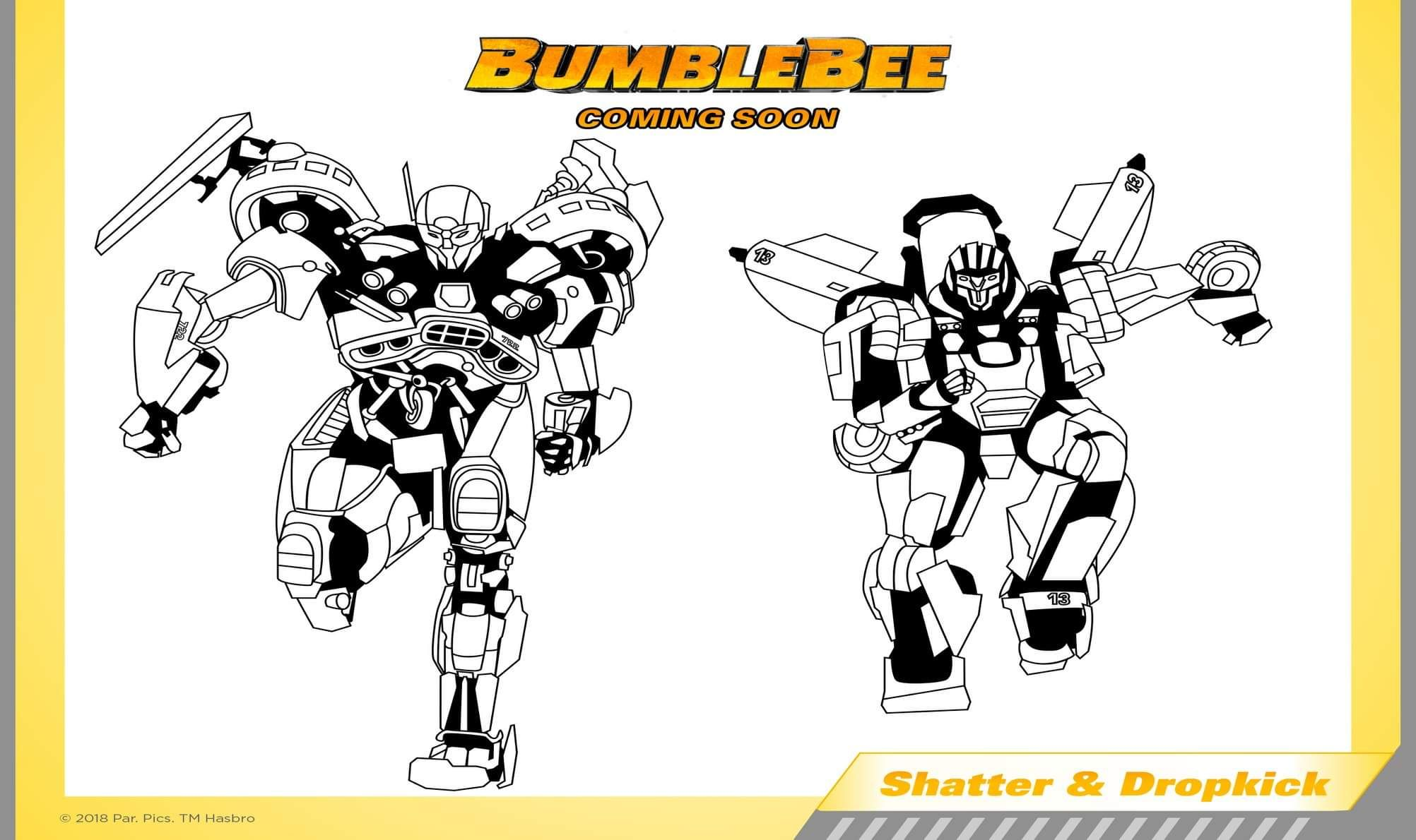 Transformers Bumblebee Merchandise Bonanza Jointhebuzz Transformers Coloring Pages Penguin Coloring Pages Lego Coloring Pages