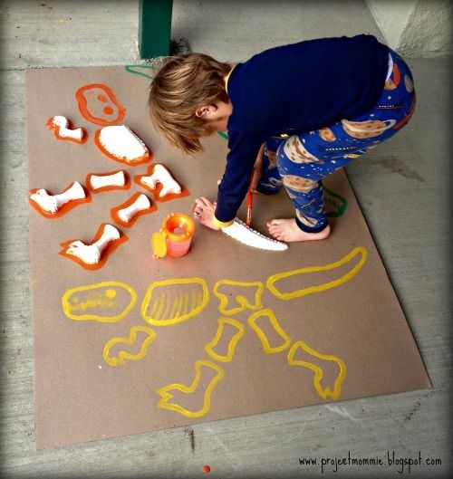 Dinosaurs Birthday Party Ideas | Photo 1 of 60 | Catch My Party #dinosaurfossils