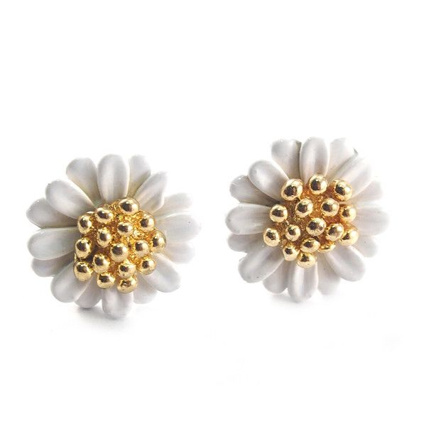 Marigold Blush Earrings (White), SGD12.90. Add a pop of colour to your ears with these exquisitely crafted marigold earrings. Bring a rush of colour to that special boy's face.Do check out our shop trystjewels.com for more designs.