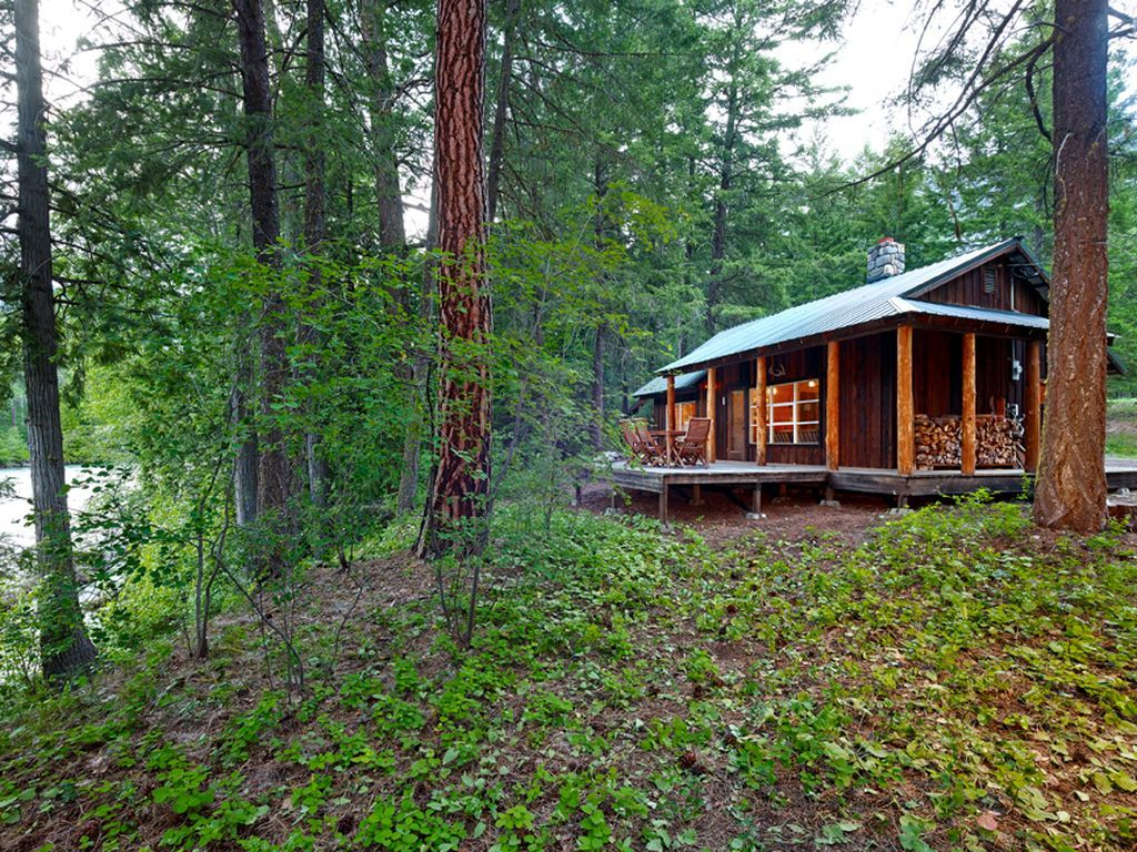 Mazama River Cabins River Cabin Small House Swoon Small House