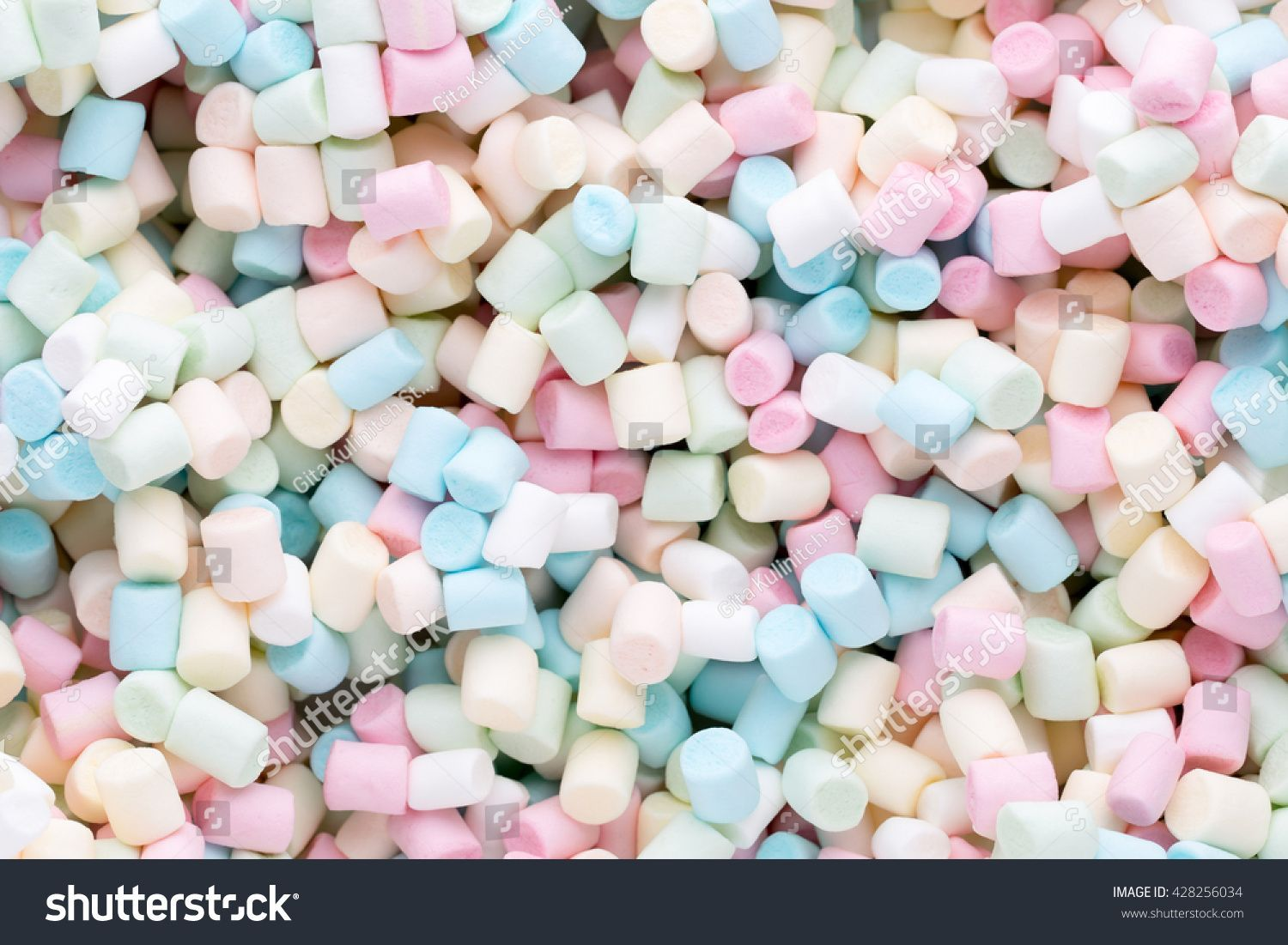 Marshmallows Background Texture Colorful Mini Marshmallows Stock Photo Edit Now 428256034 Marshmallows Background or texture of colorful mini marshmallows