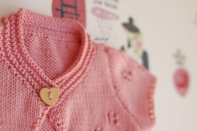 Bolero de tricot con hilo Natura!