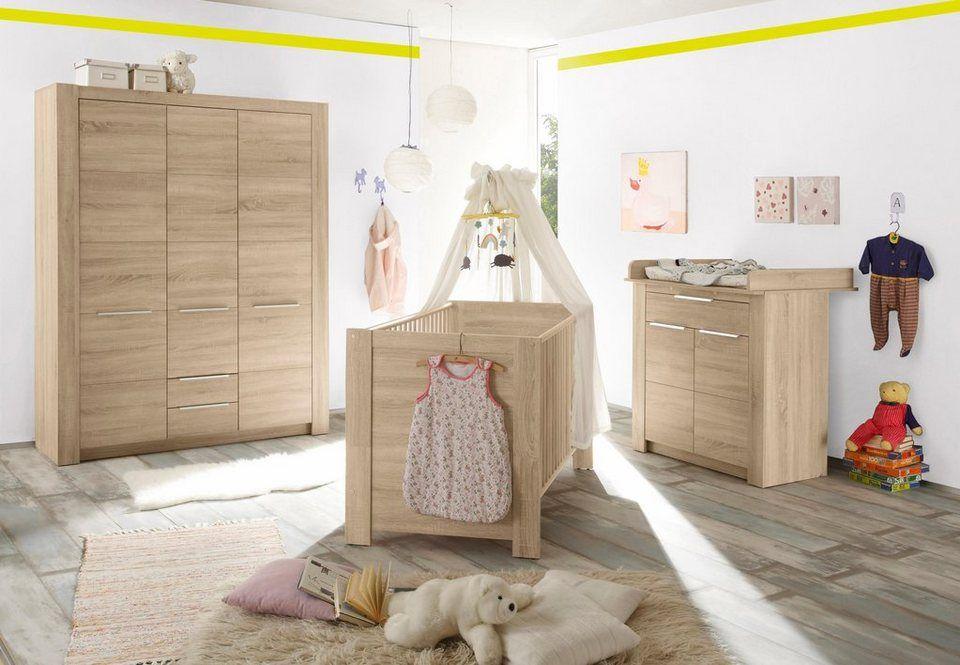 Komplett Babyzimmer Hamburg Babybett Wickelkommode Breiter