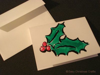 simple christmas paintings google search