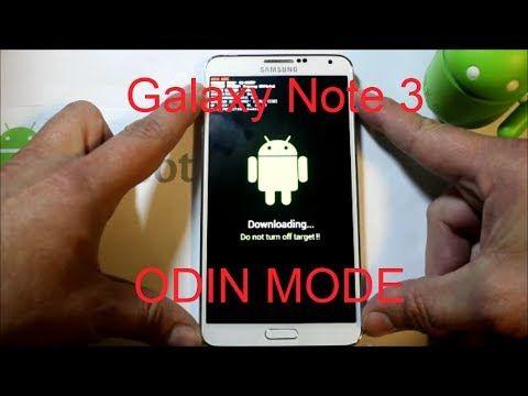 Galaxy Note 3 Download or odin mode   Verizon Galaxy Note 3