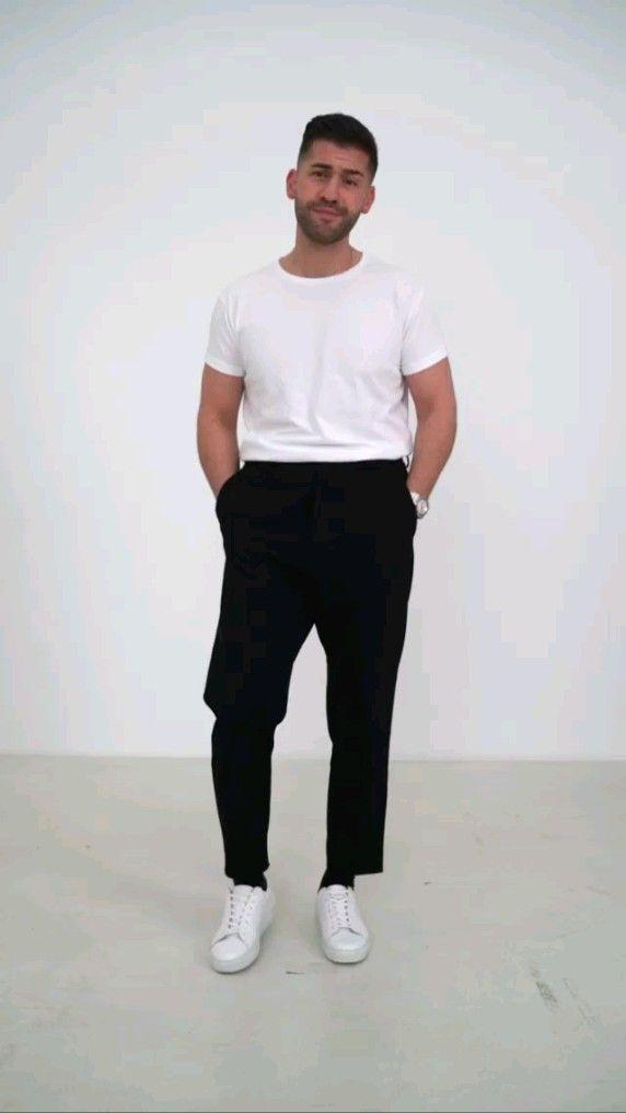 How to style black pants ... via @kostawilliamns o
