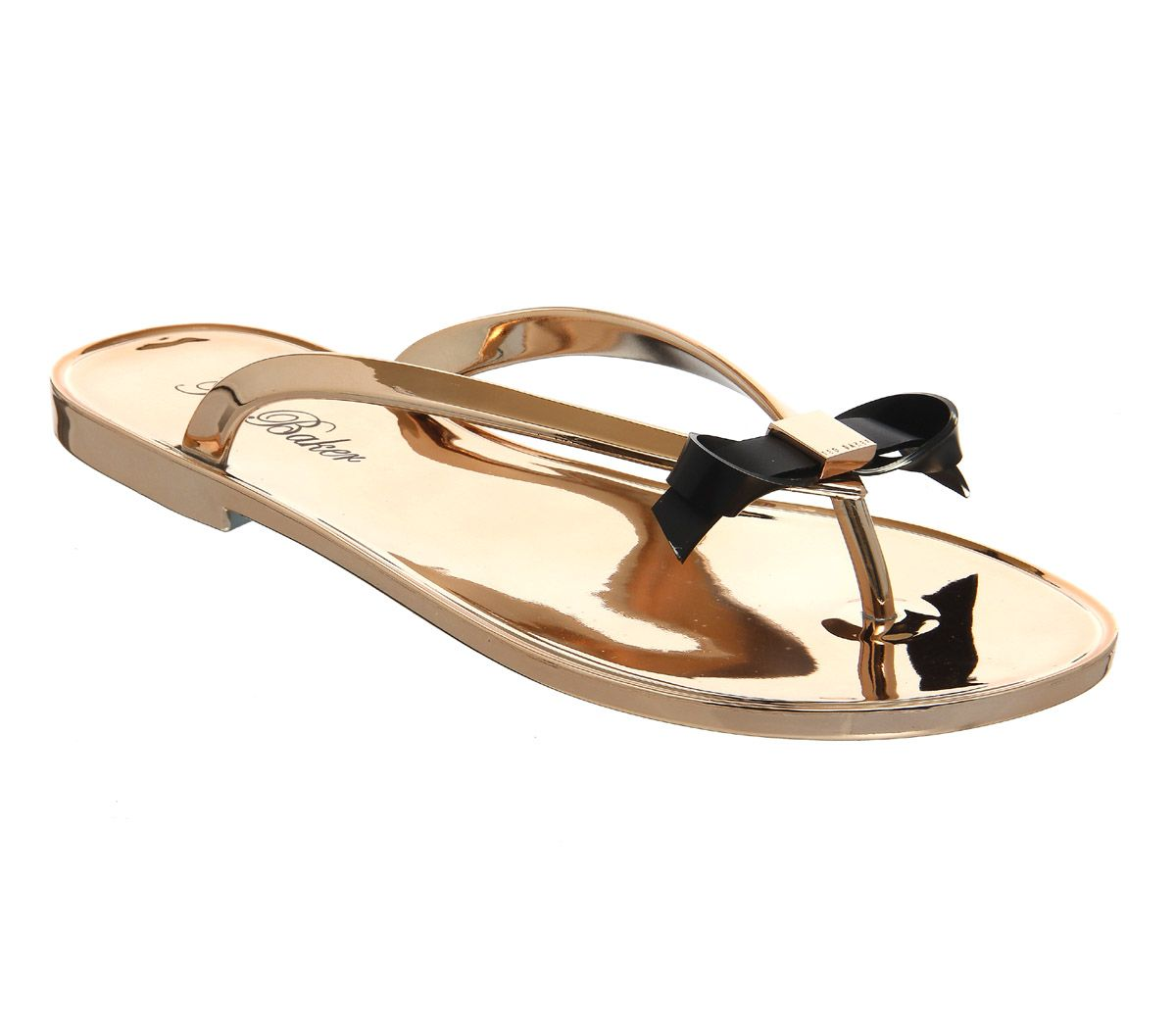 102b1db66 Buy Rose Gold Exclusive Ted Baker Heebei Sandals from OFFICE.co.uk ...