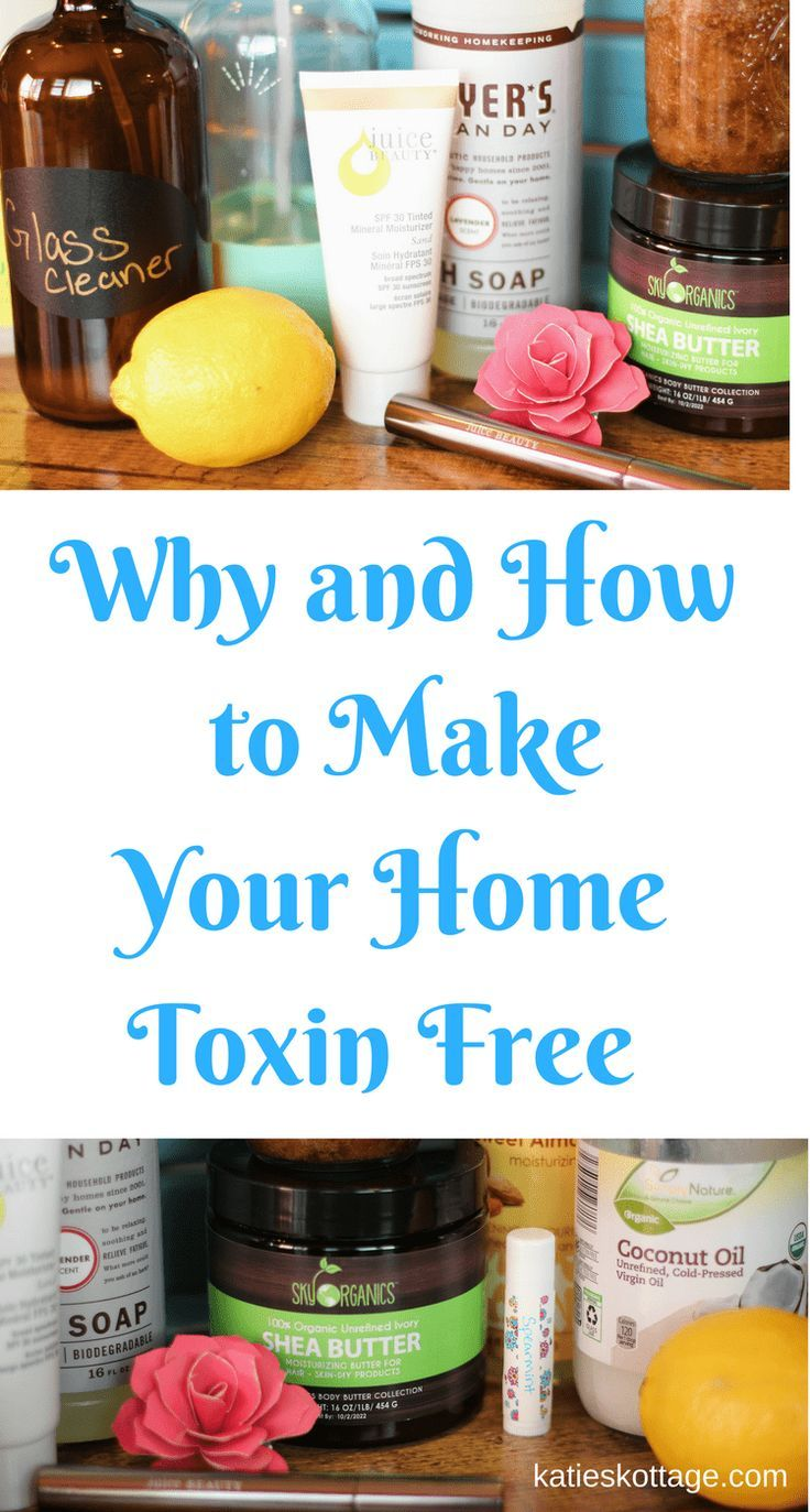 4 Thoughts to Encourage You on Your Toxin Free Journey - KatiesKottage