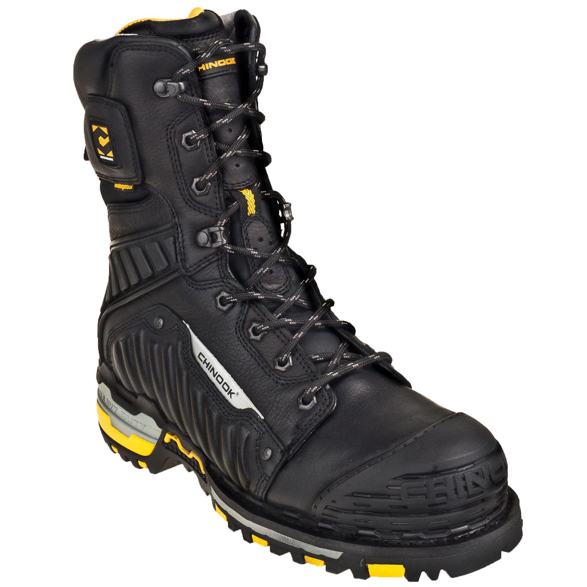 848b420c5dba Chinook Men's Waterproof Scorpion II 9-Inch 9836 001 Steel Toe Work Boots