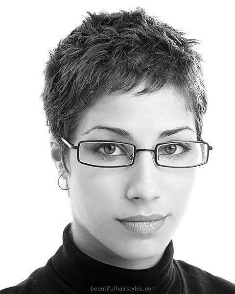 awesome Young Professional in Very Short Female Low-Maintenance Hairdo - Beautiful Hairs...
