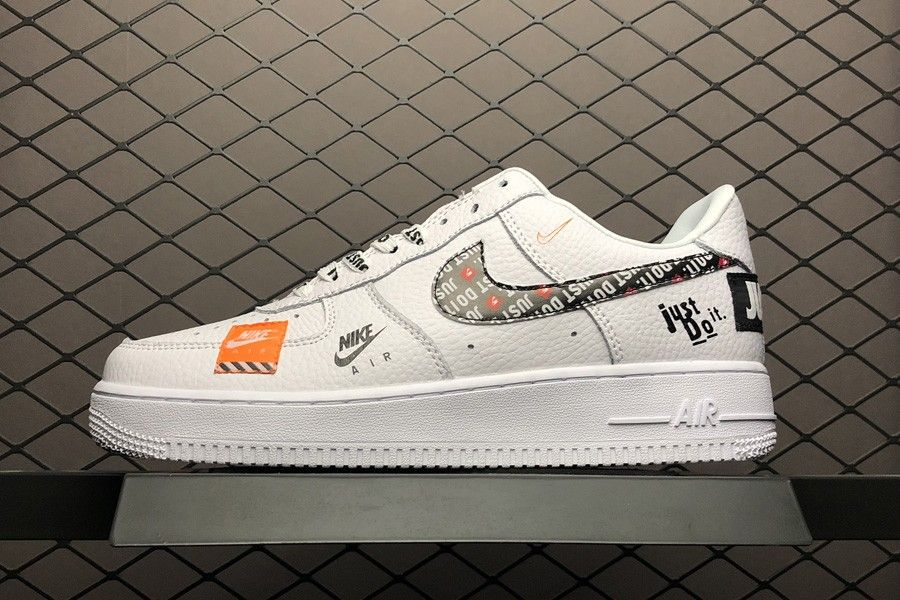 new styles 3f76a e4142 Nike Air Force 1 07 Premium Just Do It White For Sale