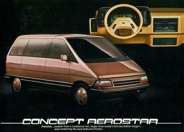 1984 Ford Concept Aerostar