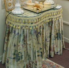 Slirted Dressing Table Skirted Actually I