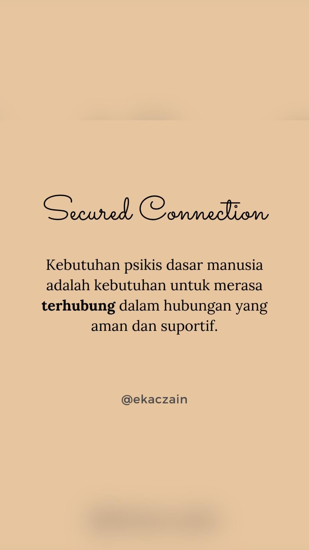Secured Connection