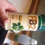 PB2! Love this stuff! Less fat and calories than peanut butter!! Great to put in smoothies!