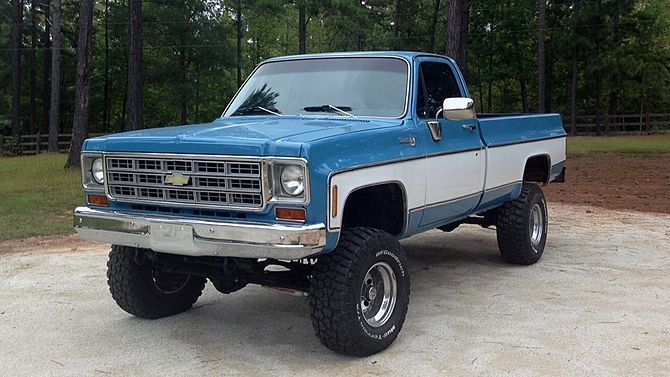 1978 Chevrolet C10 Pickup 350 Ci 4 Wheel Drive Presented As Lot