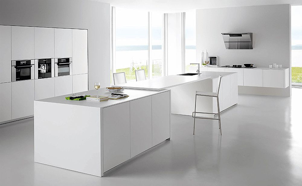 Contemporary White Kitchen 30 contemporary white kitchens ideas | kitchens, kitchen colors