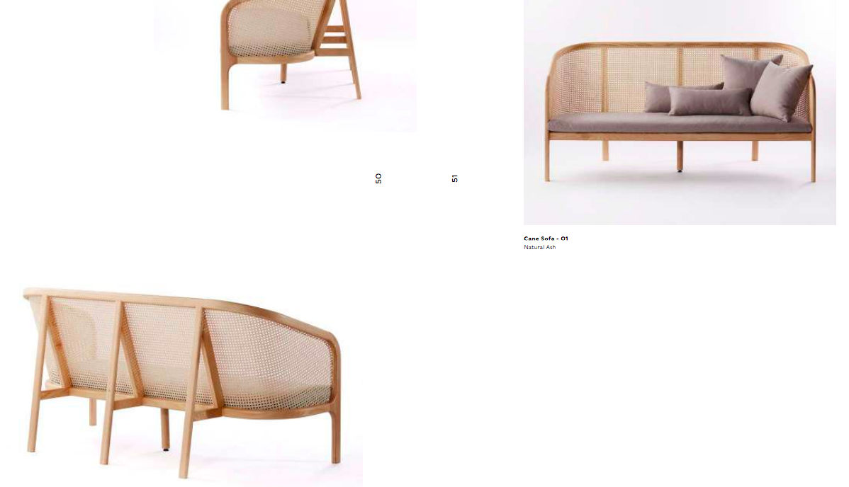 Cane Collection by Podium Manufacturer - Banquette, sofa